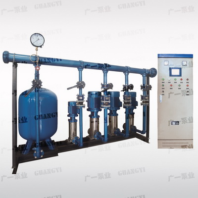 MVWS智能全自动变频调速恒(变)压给水设备